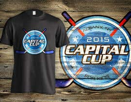 #13 untuk Design a T-Shirt for a hockey tournament oleh dsgrapiko