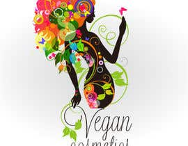 #31 cho Design a Logo for a line of vegetarian cosmetics bởi razvantheodor