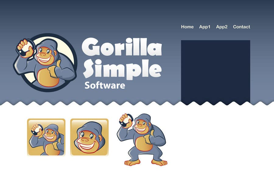 Inscrição nº                                         58                                      do Concurso para                                         Graphic Design for Gorilla Simple Software, LLC