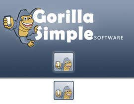 #65 untuk Graphic Design for Gorilla Simple Software, LLC oleh lucad86