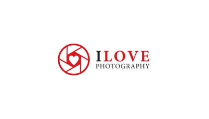 #26 for Design a Logo for I ♥ Photography af ammari1230