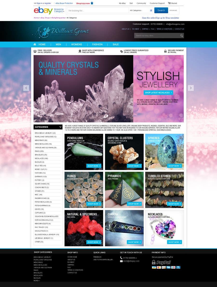 Konkurrenceindlæg #                                        14                                      for                                         Design a Ebay Store & Listing Template