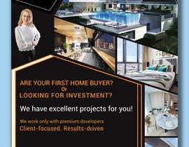 #277 cho Design flyer for real estate agent bởi amirpdc24