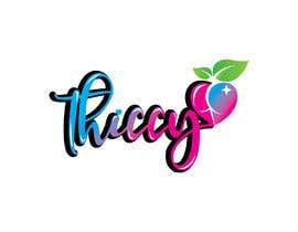 "RasedaSultana tarafından design clothing brand logo  the name is ""thiccy"" için no 411"