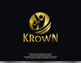 #103 for Design a logo for KROWN, a kitchen supply company that gives profits to low income communities af SAKTI2