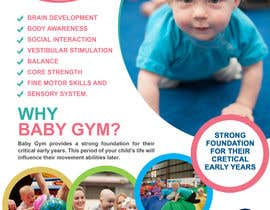 #33 para Baby Gym Program Marketing Material por mostofafx