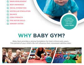 #21 para Baby Gym Program Marketing Material por rimskik