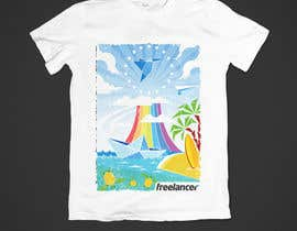 lenssens tarafından Create a t-shirt design that best embodies Freelancer's hip and fun nature için no 208