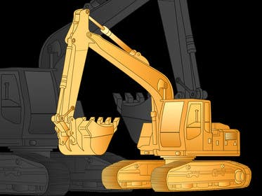 #17 cho 3D illustration of a construction machine bởi graphicdesign001