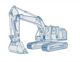 #26 untuk 3D illustration of a construction machine oleh estudiove
