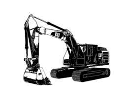 #30 untuk 3D illustration of a construction machine oleh karthik3989