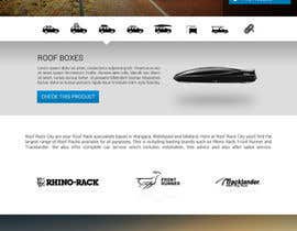 #4 para Design a Website Mockup for Roof Rack Co por KsWebPro