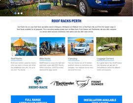 #14 para Design a Website Mockup for Roof Rack Co por princevenkat