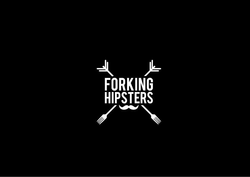 Proposition n°                                        19                                      du concours                                         Design a Logo for FOOD TV SHOW with hipster theme.