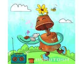 Nro 56 kilpailuun Drawing Contest - Draw a Gardening Golem! käyttäjältä ashutosht82