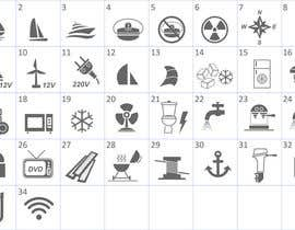 nº 12 pour Pictograms for a Boat Booking Website par Bervanince