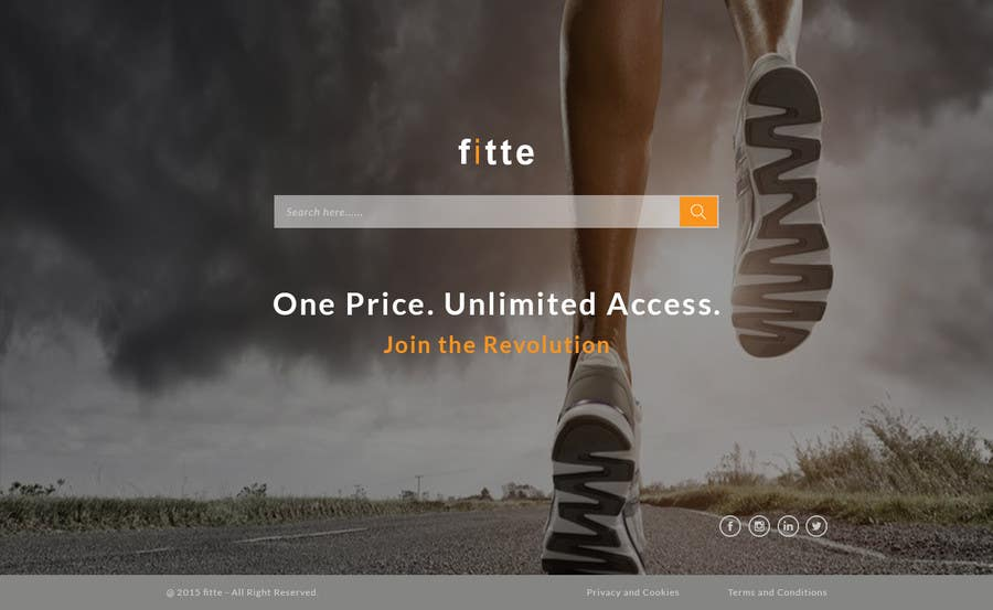 Contest Entry #                                        19                                      for                                         Design a Website Mockup for Fitness Business