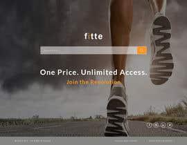 Nro 19 kilpailuun Design a Website Mockup for Fitness Business käyttäjältä negibheji