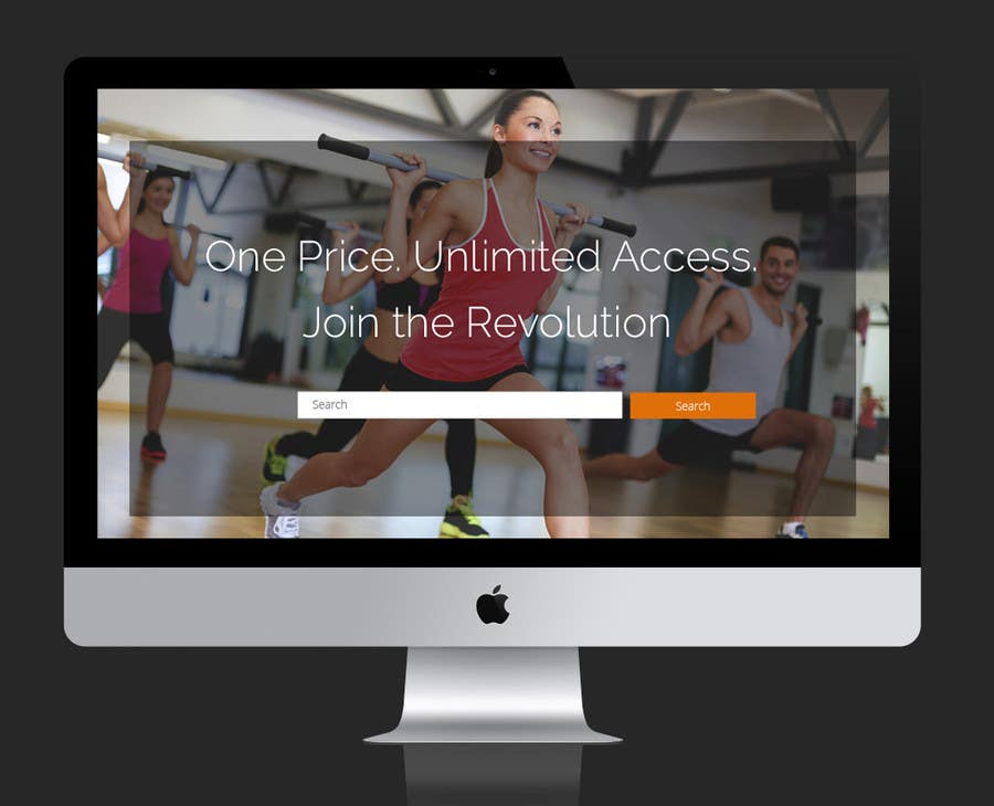 Contest Entry #                                        7                                      for                                         Design a Website Mockup for Fitness Business