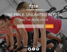 #10 para Design a Website Mockup for Fitness Business por cromasolutions