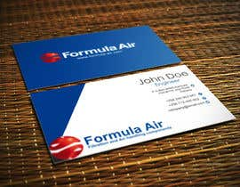 #24 for Formula Air businesscards! af Fidelism