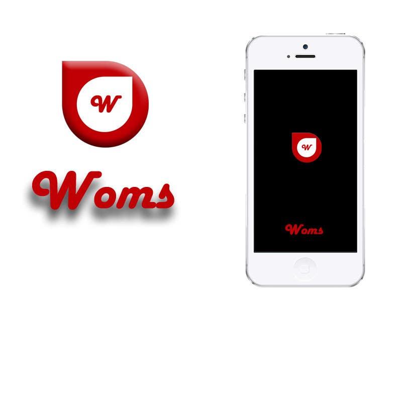Konkurrenceindlæg #                                        12                                      for                                         Logo and SplashScreen design for APP WOMS