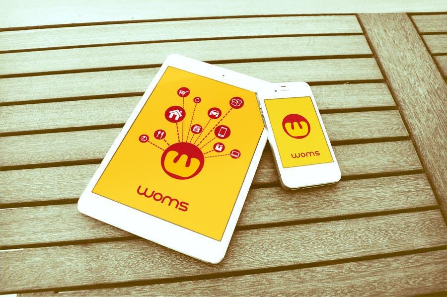 Konkurrenceindlæg #                                        31                                      for                                         Logo and SplashScreen design for APP WOMS