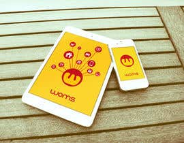 #31 untuk Logo and SplashScreen design for APP WOMS oleh lucanif