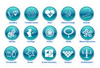 Graphic Design Contest Entry #30 for Design some Icons for Wholesale Crystal Website