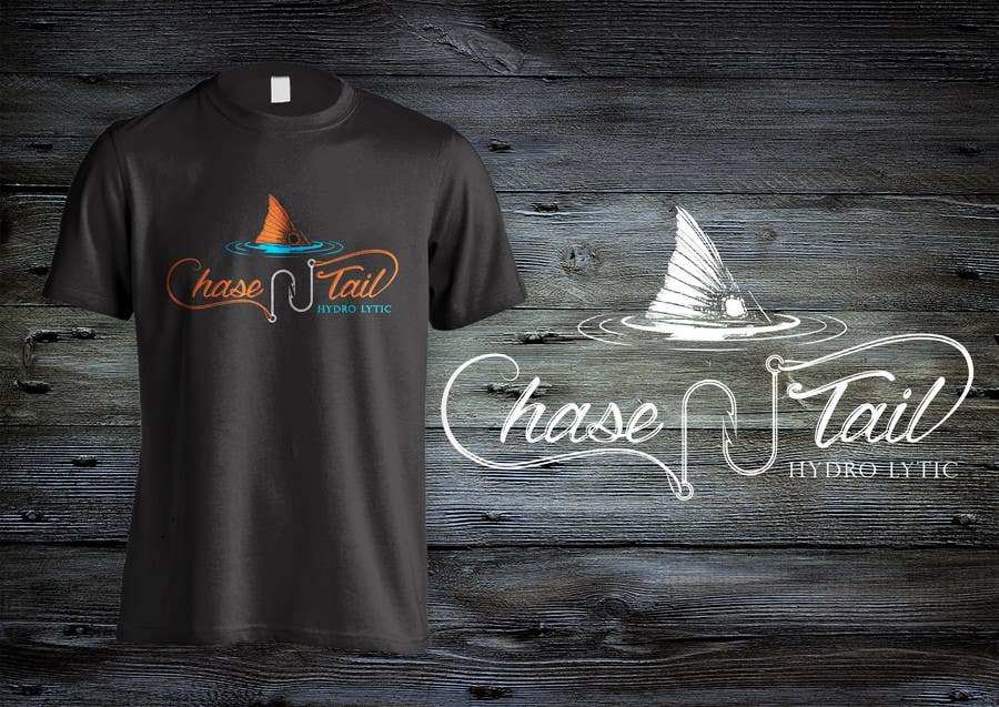 Konkurrenceindlæg #15 for Tshirt for a fishing company, Chase-N-tail