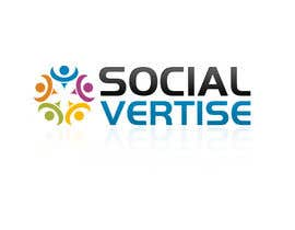 #123 per Logo Design for Socialvertise da designerartist
