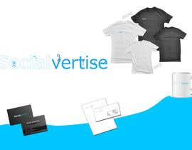 #153 para Logo Design for Socialvertise de Rflip