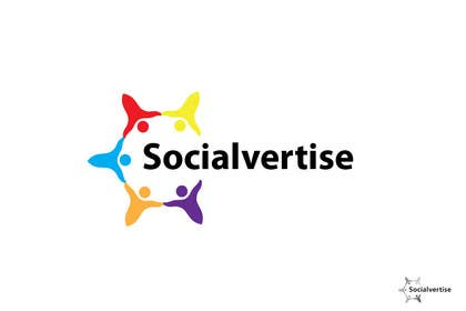 #201 para Logo Design for Socialvertise de iffikhan