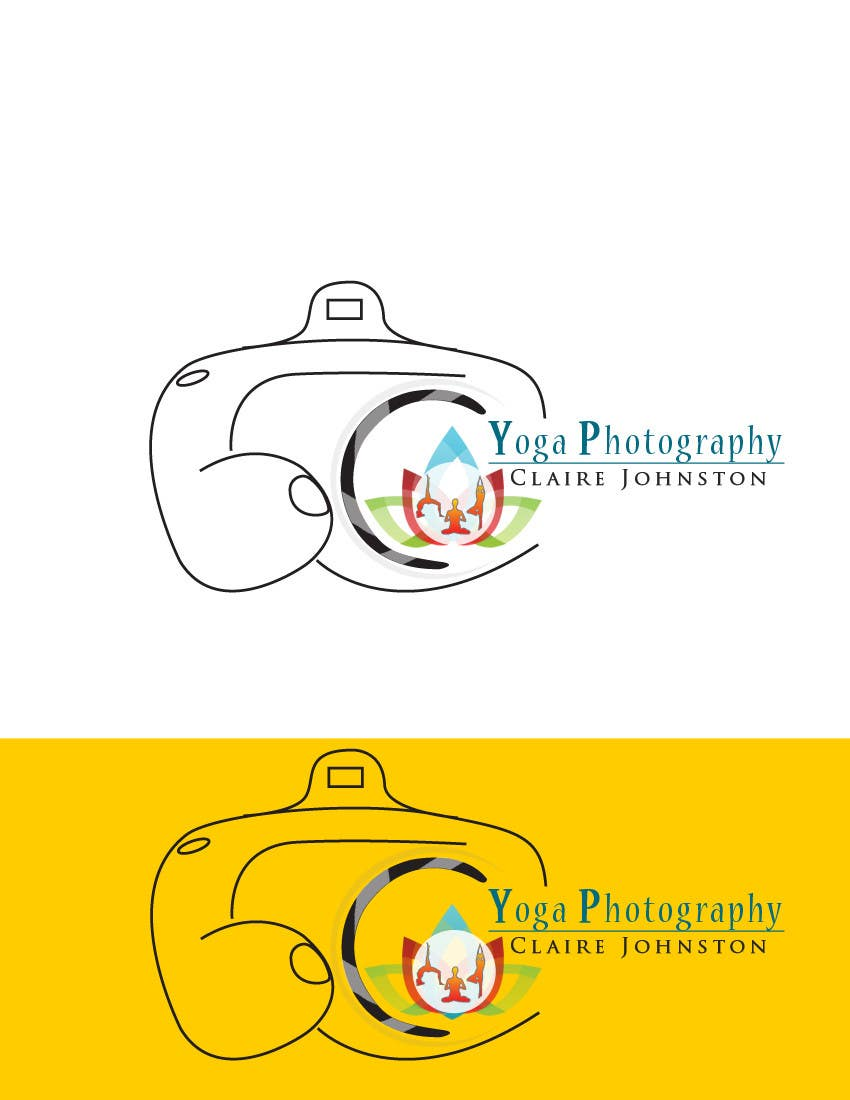 Kilpailutyö #117 kilpailussa Design a Logo for Yoga Photography