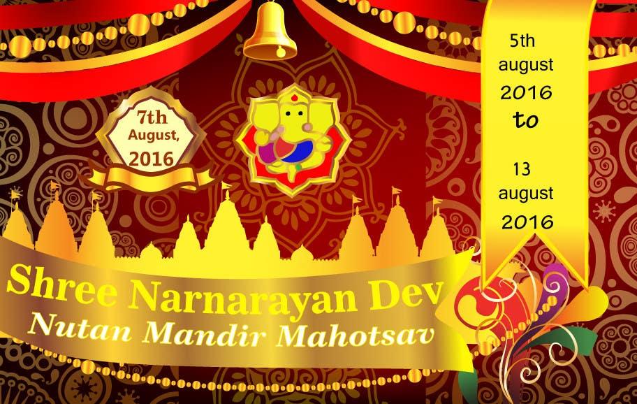 Konkurrenceindlæg #22 for Temple Opening Ceremony Logo