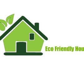 #35 para Eco Friendly House Logo Design por softdesignview