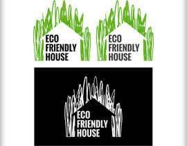 #89 untuk Eco Friendly House Logo Design oleh GitaKegan