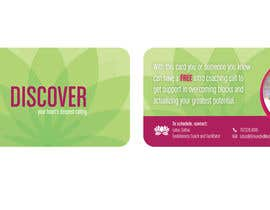 #55 untuk Design some Business Cards for free coaching services oleh ImPixelboy