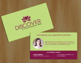 quaarc tarafından Design some Business Cards for free coaching services için no 23