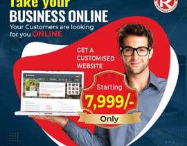 #81 for Need Banner for my Website Designing Service af tajkiyanijami