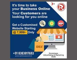 #24 for Need Banner for my Website Designing Service af Shubash1994