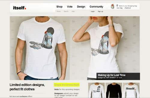Kilpailutyö #                                        6                                      kilpailussa                                         Couples T-Shirt Website (rebuild)