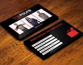 #16 para Gift Certificate/Business Card/Promo Design por expectsign