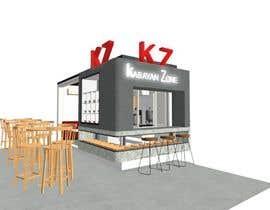 Nro 20 kilpailuun Interior and exterior Design for a coffee shop käyttäjältä Ellen96