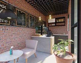 Nro 53 kilpailuun Interior and exterior Design for a coffee shop käyttäjältä pradeepsaman