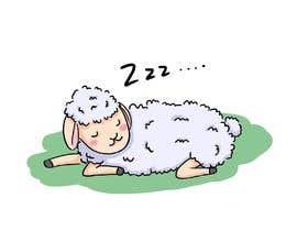Nro 82 kilpailuun Draw a simple sheep charactor käyttäjältä kikiam265