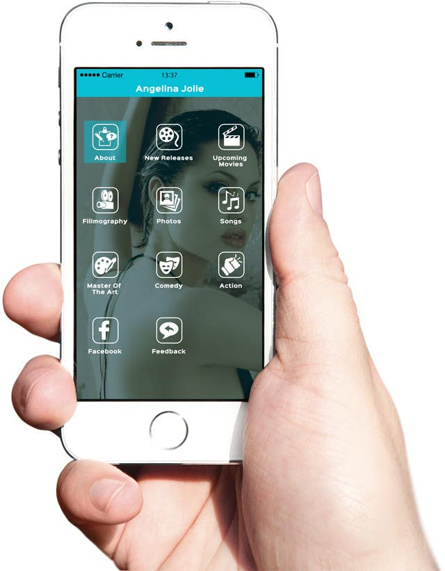 Konkurrenceindlæg #                                        30                                      for                                         Improve an App Home Screen Mockup