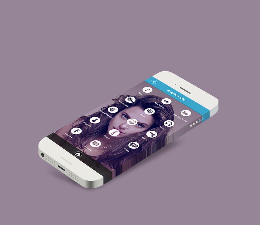 Konkurrenceindlæg #39 for Improve an App Home Screen Mockup