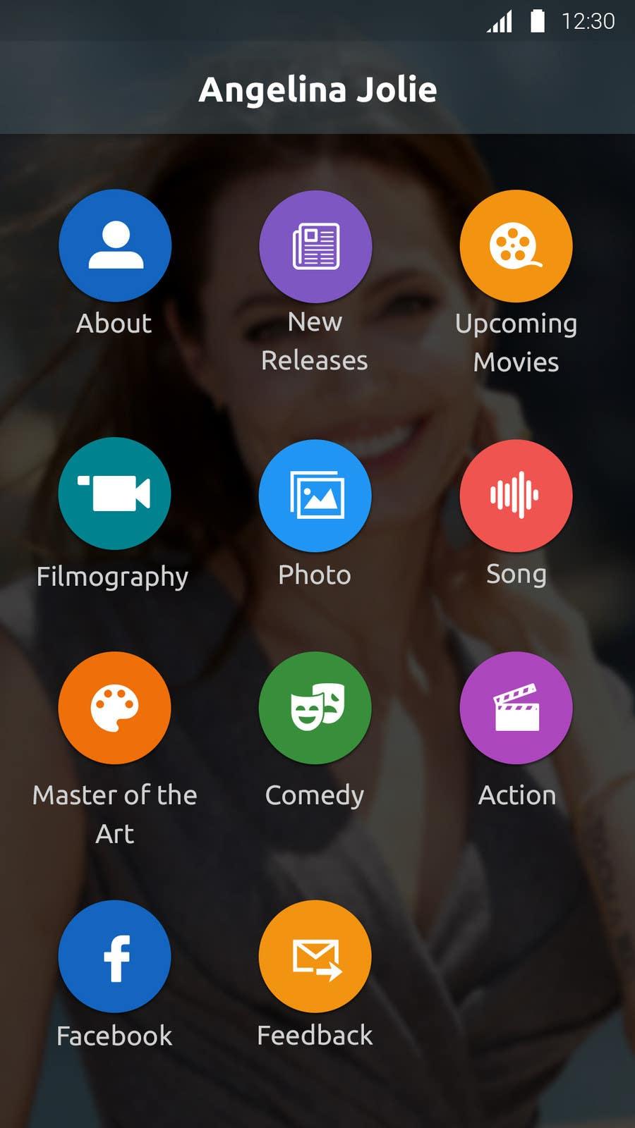 Konkurrenceindlæg #                                        21                                      for                                         Improve an App Home Screen Mockup