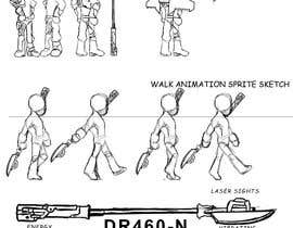 #50 for Create a unique pixel art stick figure character for 2D/3D comic and game series af nephilimrock